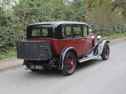 1930 Humber 16/50 Saloon SOLD (picture 4 of 6)