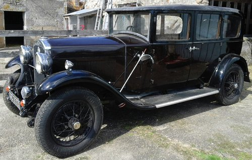 1930 HUMBER 16/50 SALOON - SUBSTANTIAL RESTORATION !! SOLD (picture 1 of 4)