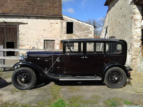 1930 HUMBER 16/50 SALOON - SUBSTANTIAL RESTORATION !! SOLD (picture 2 of 4)