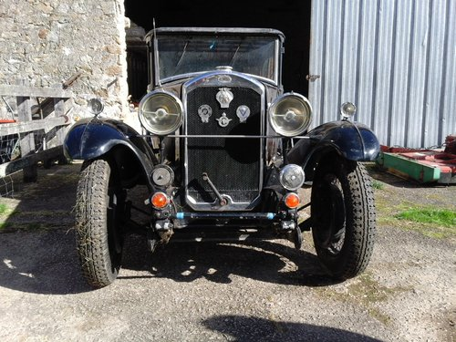 1930 HUMBER 16/50 SALOON - SUBSTANTIAL RESTORATION !! SOLD (picture 3 of 4)