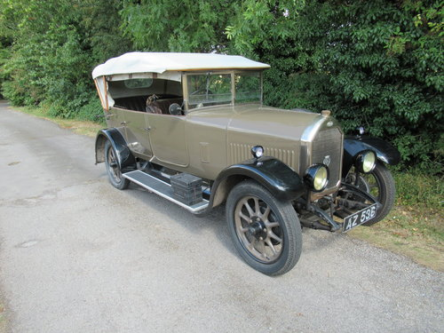 1928 Humber 14/40 4/5 Seat Tourer SOLD (picture 1 of 6)