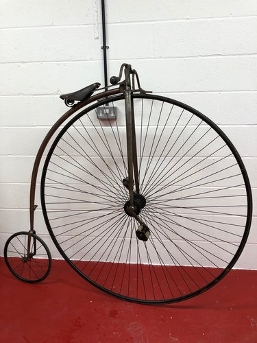 ORIGINAL 1875 ANTIQUE 55 PENNY FARTHING £4995 PX CONSIDERED  For Sale (picture 1 of 6)