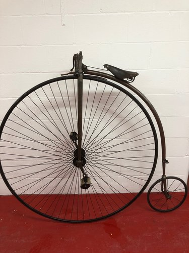 ORIGINAL 1875 ANTIQUE 55 PENNY FARTHING £4995 PX CONSIDERED  For Sale (picture 2 of 6)