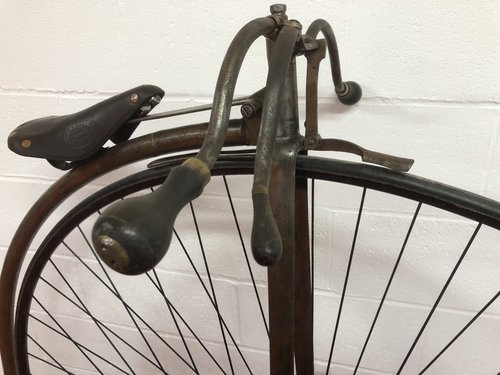 ORIGINAL 1875 ANTIQUE 55 PENNY FARTHING £4995 PX CONSIDERED  For Sale (picture 4 of 6)