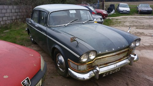1961 Humber Super Snipe for restoration. For Sale (picture 1 of 6)