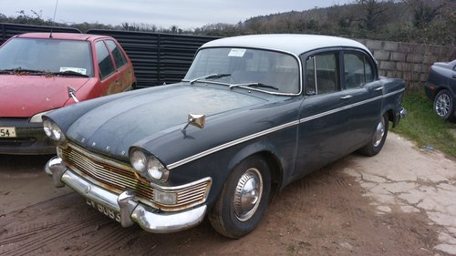 1961 Humber Super Snipe for restoration. For Sale (picture 2 of 6)