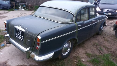 1961 Humber Super Snipe for restoration. For Sale (picture 3 of 6)