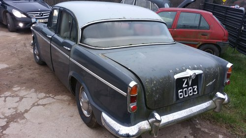 1961 Humber Super Snipe for restoration. For Sale (picture 4 of 6)