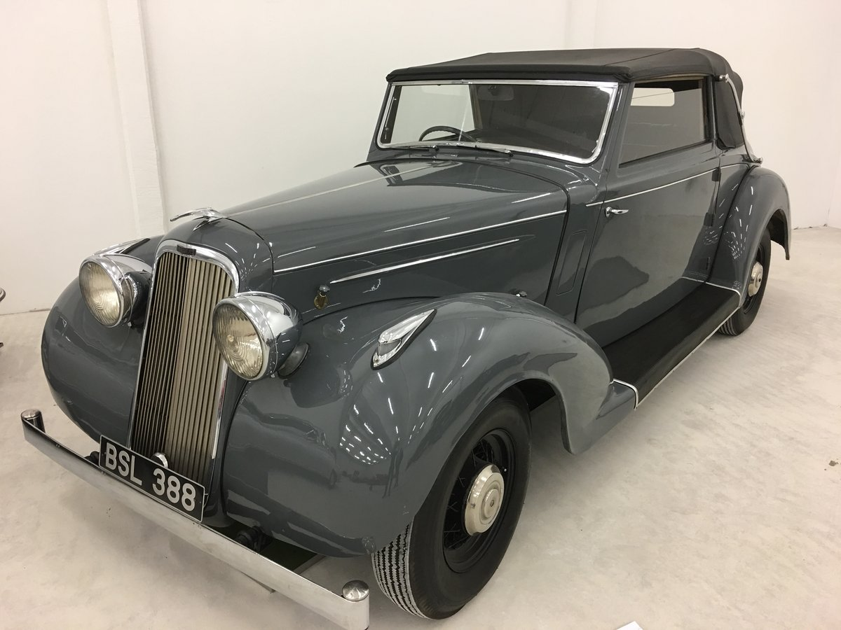 1937 Humber Snipe Imperial Convertible For Sale (picture 1 of 6)