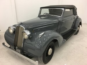 1937 Humber Snipe Imperial Convertible For Sale