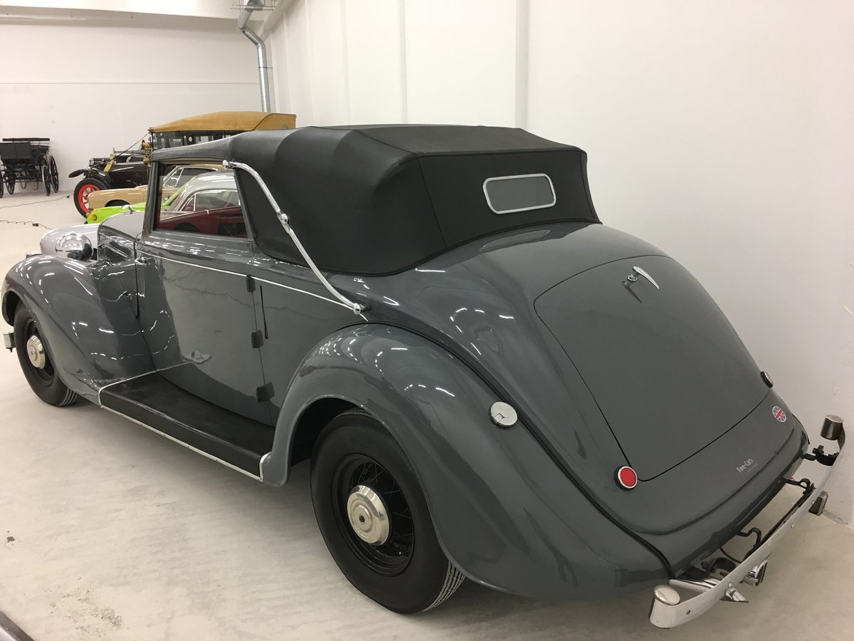 1937 Humber Snipe Imperial Convertible For Sale (picture 2 of 6)