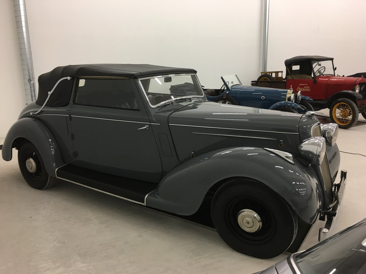 1937 Humber Snipe Imperial Convertible For Sale (picture 4 of 6)