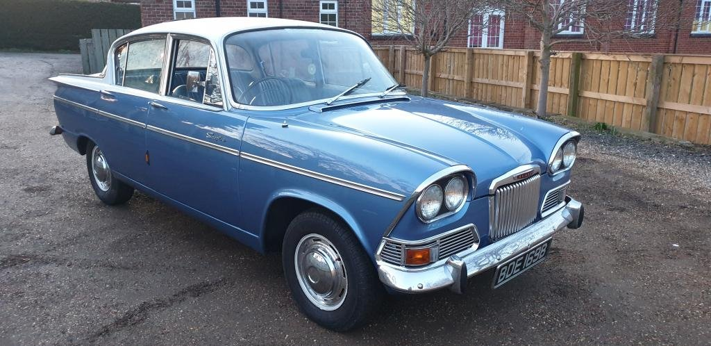 **MARCH AUCTION**1964 Humber Sceptre SOLD by Auction (picture 1 of 1)