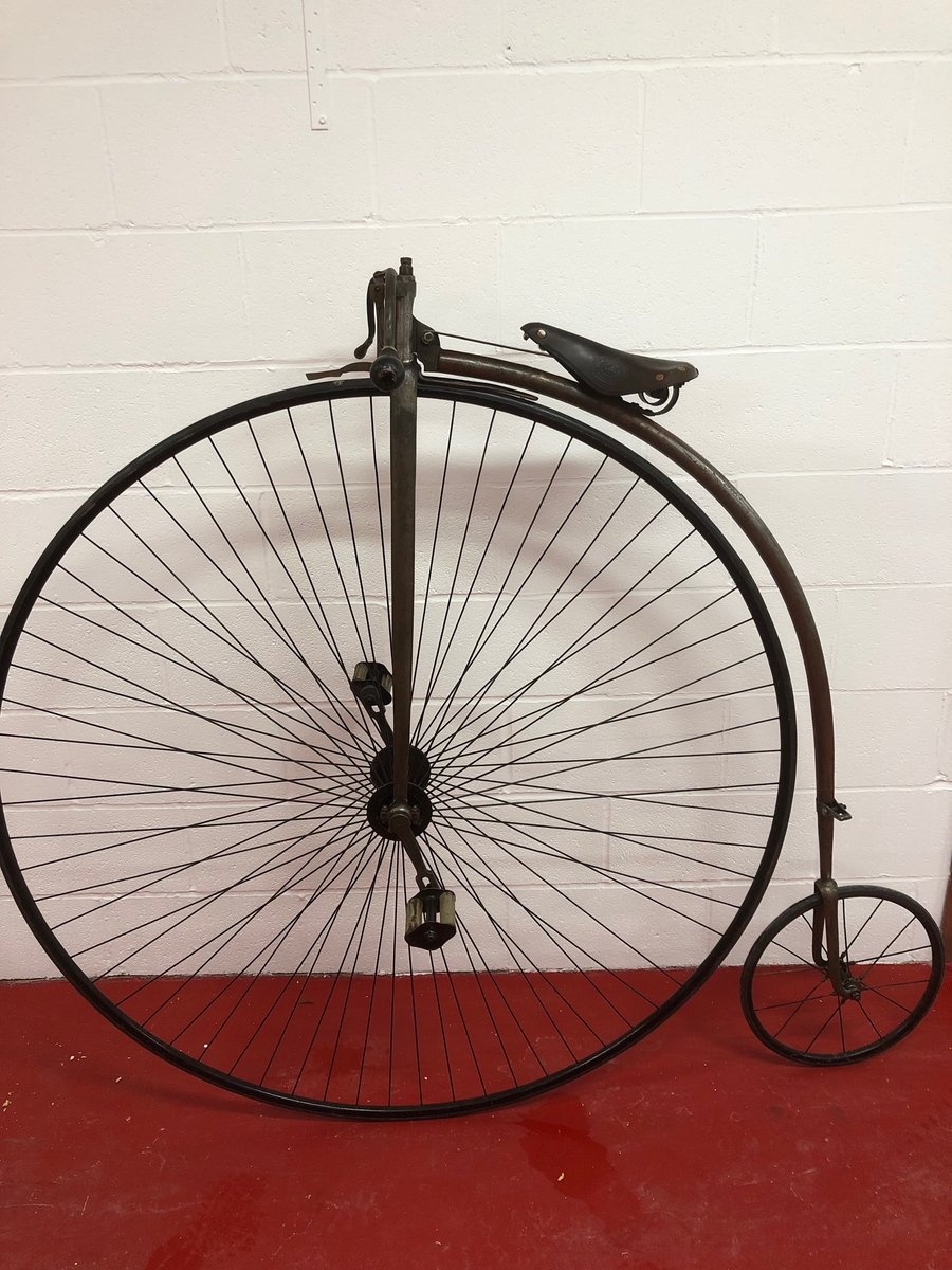 ORIGINAL 1875 ANTIQUE 55 PENNY FARTHING £4500 PX CONSIDERED  For Sale (picture 5 of 6)