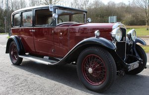 1930  Humber 16/50 Saloon Exception Condition