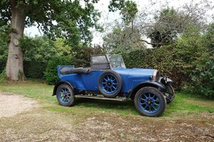 1926 Humber 9/20 – Offered at No Reserve: 02 Apr 2019 For Sale by Auction
