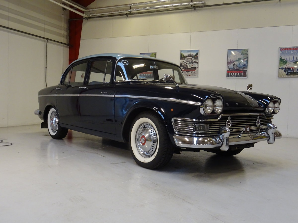 1961 Humber Super Snipe Series III For Sale (picture 1 of 6)