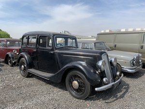 1935 Humber 12hp Saloon For Sale by Auction
