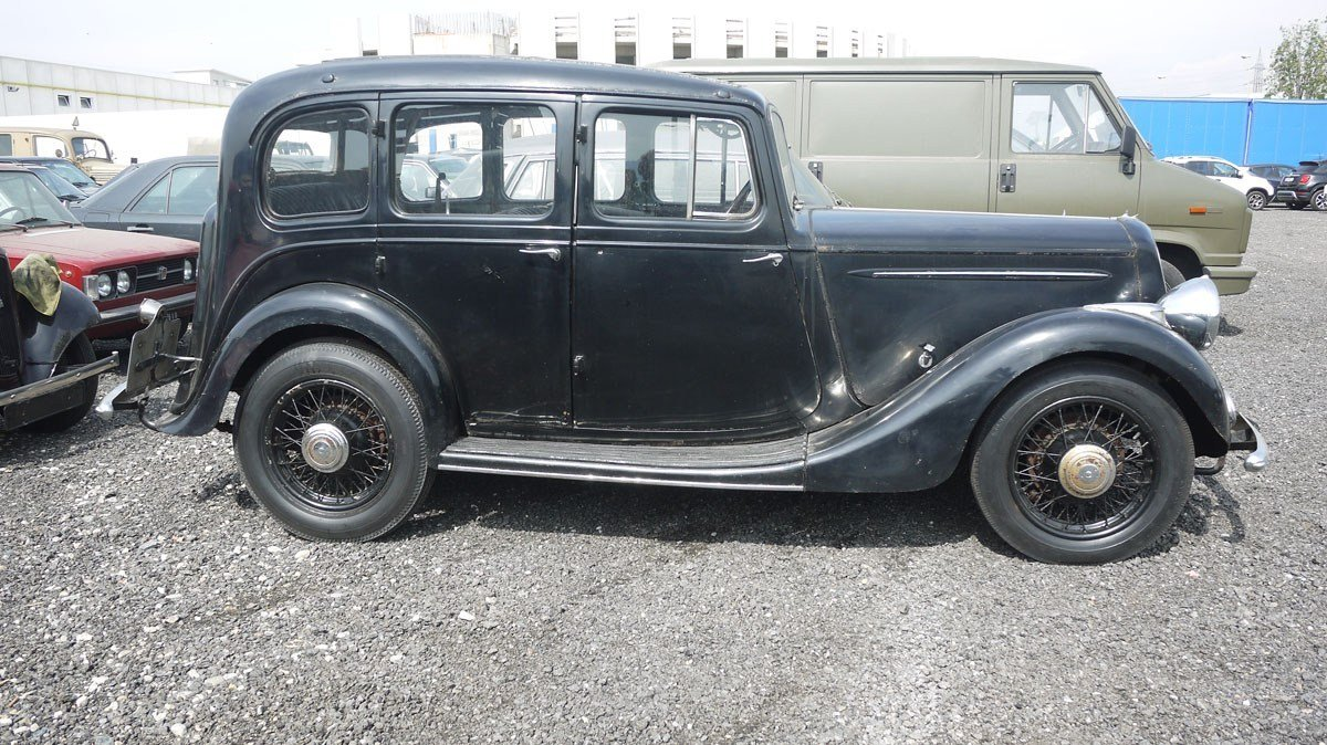 1935 Humber 12hp Saloon For Sale by Auction (picture 4 of 4)