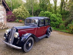 1936 Humber 12  For Sale