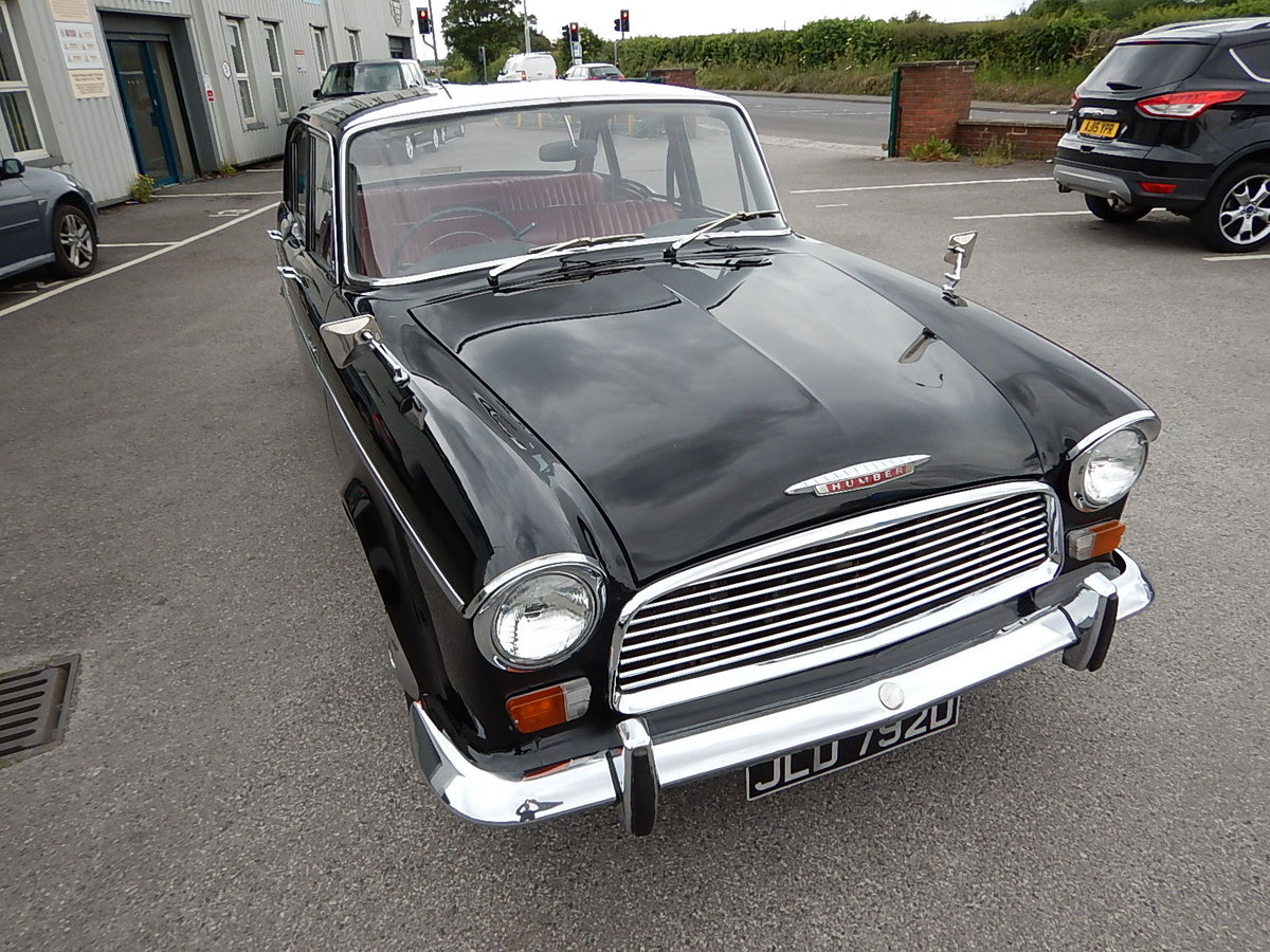 1966 HUMBER HAWK Series IVa Automatic Saloon ~  For Sale (picture 2 of 6)