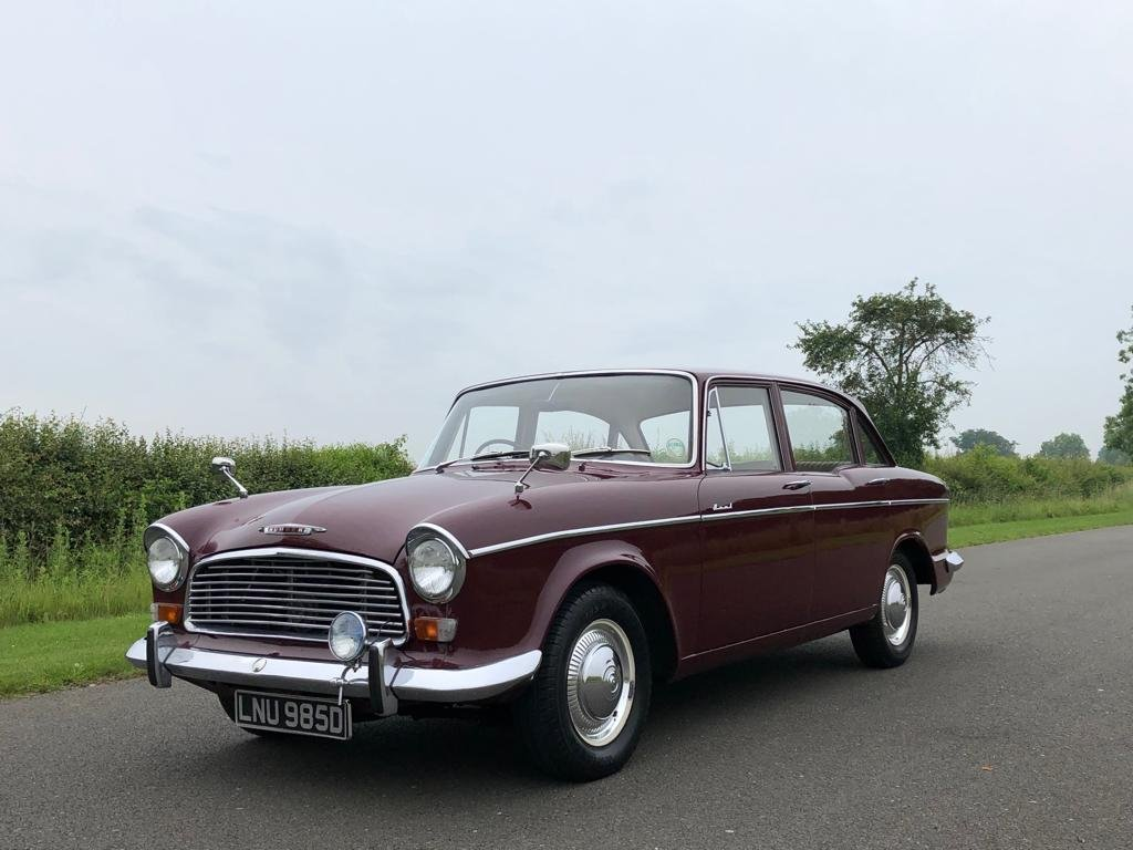 1966 HUMBER HAWK Series VI Automatic Saloon SOLD (picture 1 of 6)