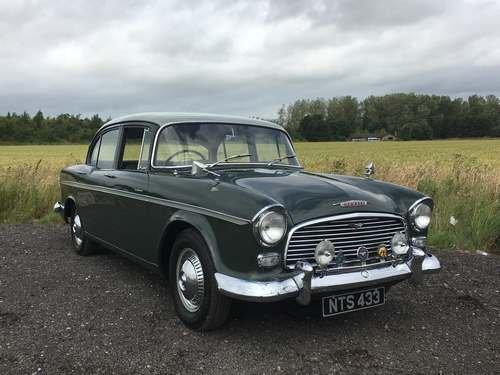 1962 Humber Hawk Series II at Morris Leslie Auction 17th August For Sale by Auction (picture 1 of 6)