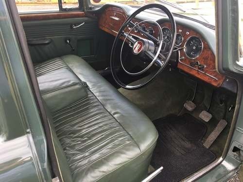 1962 Humber Hawk Series II at Morris Leslie Auction 17th August For Sale by Auction (picture 5 of 6)