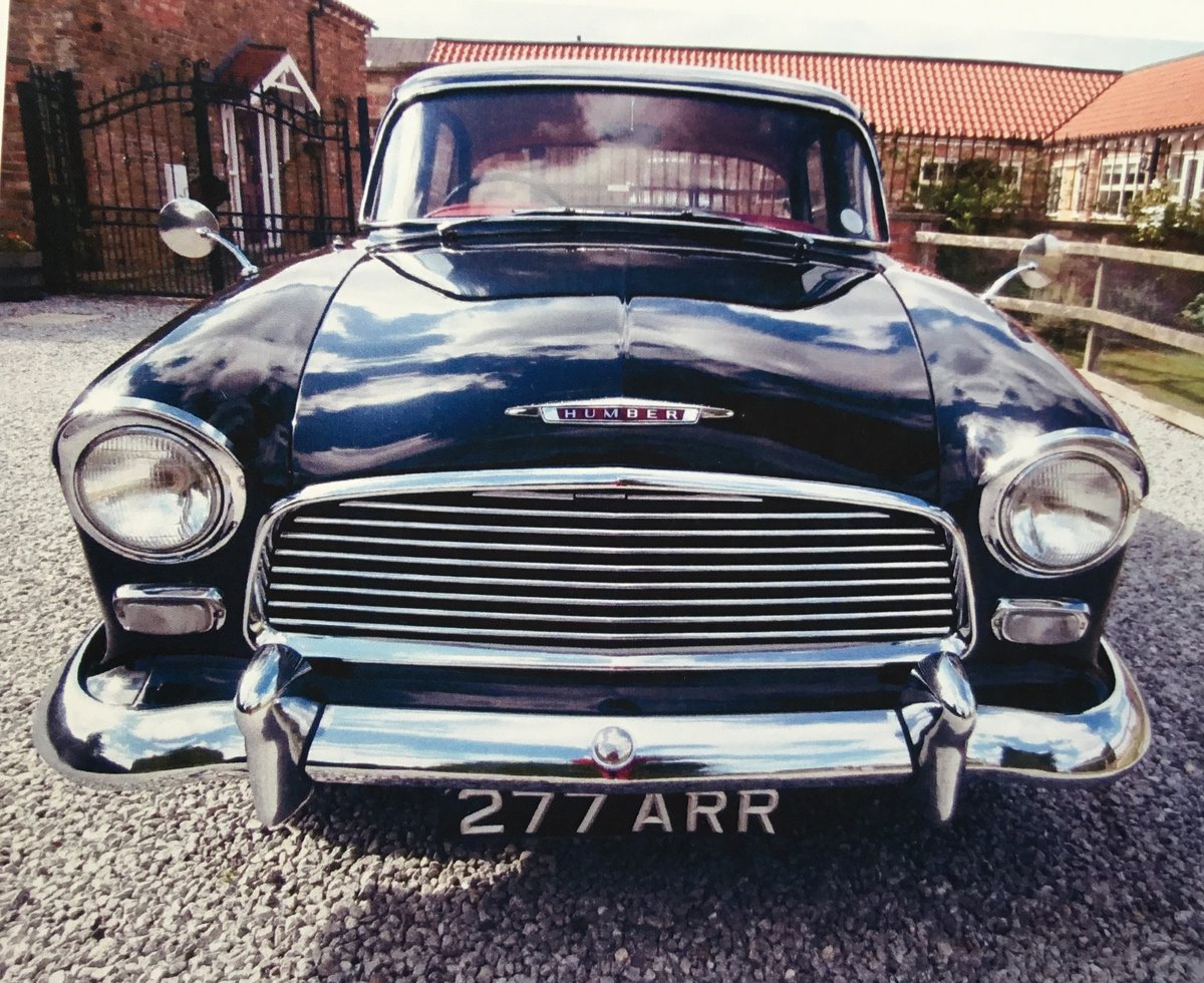 1958 Humber Hawk Series One Low Mileage For Sale (picture 1 of 6)