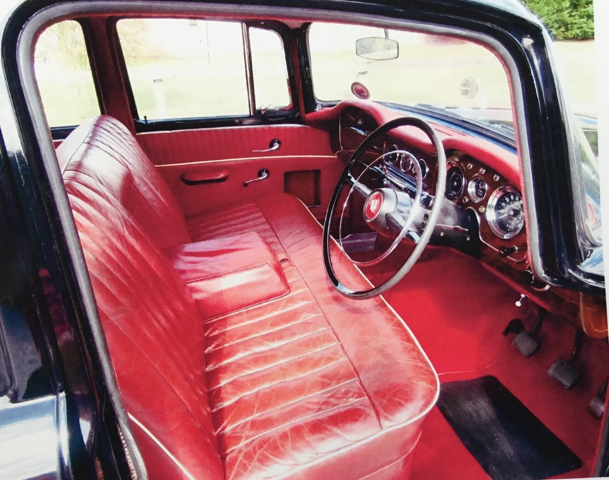 1958 Humber Hawk Series One Low Mileage For Sale (picture 4 of 6)