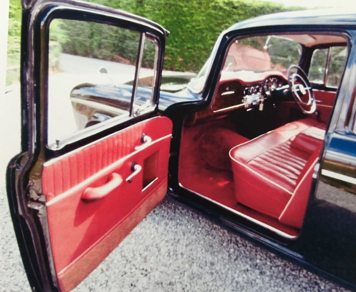 1958 Humber Hawk Series One Low Mileage For Sale (picture 5 of 6)