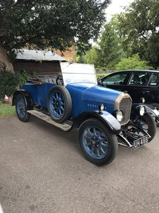 1926 Humber 9/20 2 seater and dickey