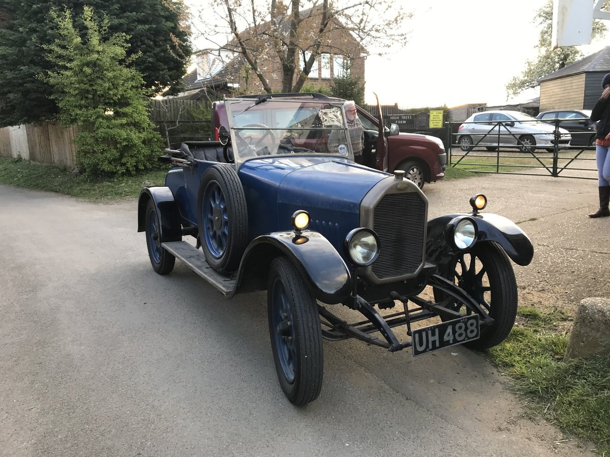 1926 Humber 9/20 2 seater and dickey For Sale (picture 2 of 6)