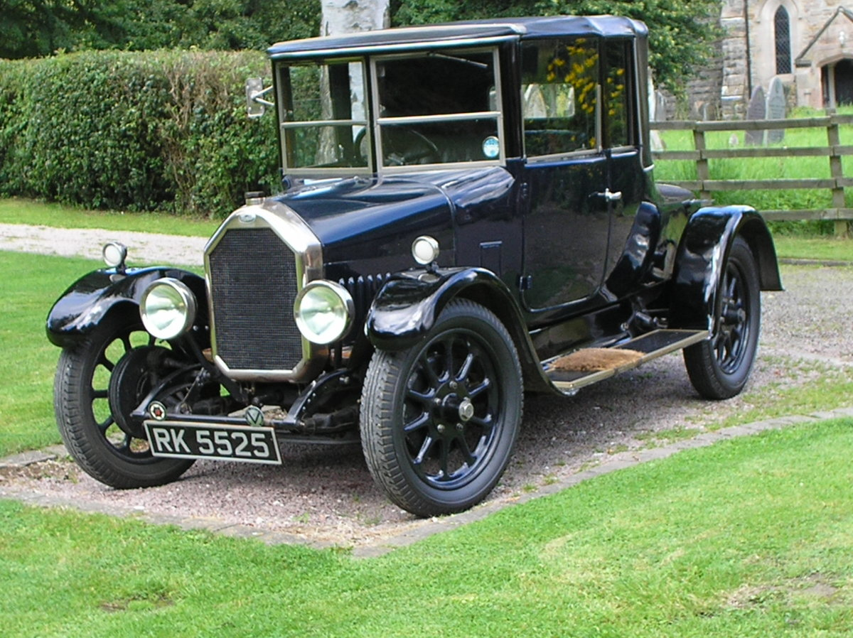 VINTAGE 1926 HUMBER 12/25 DROPHEAD 3/4 COUPE, RARE SURVIVOR For Sale (picture 1 of 6)