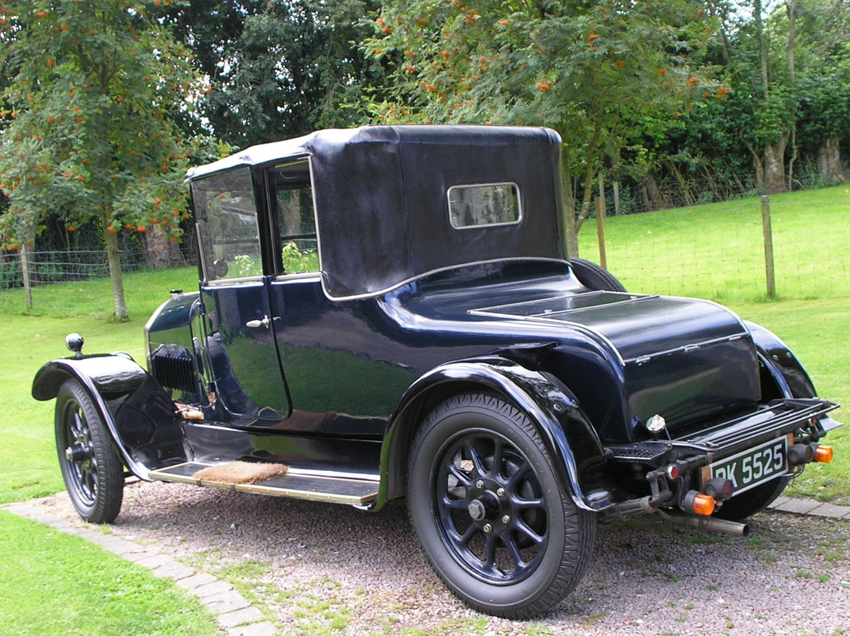 VINTAGE 1926 HUMBER 12/25 DROPHEAD 3/4 COUPE, RARE SURVIVOR For Sale (picture 2 of 6)