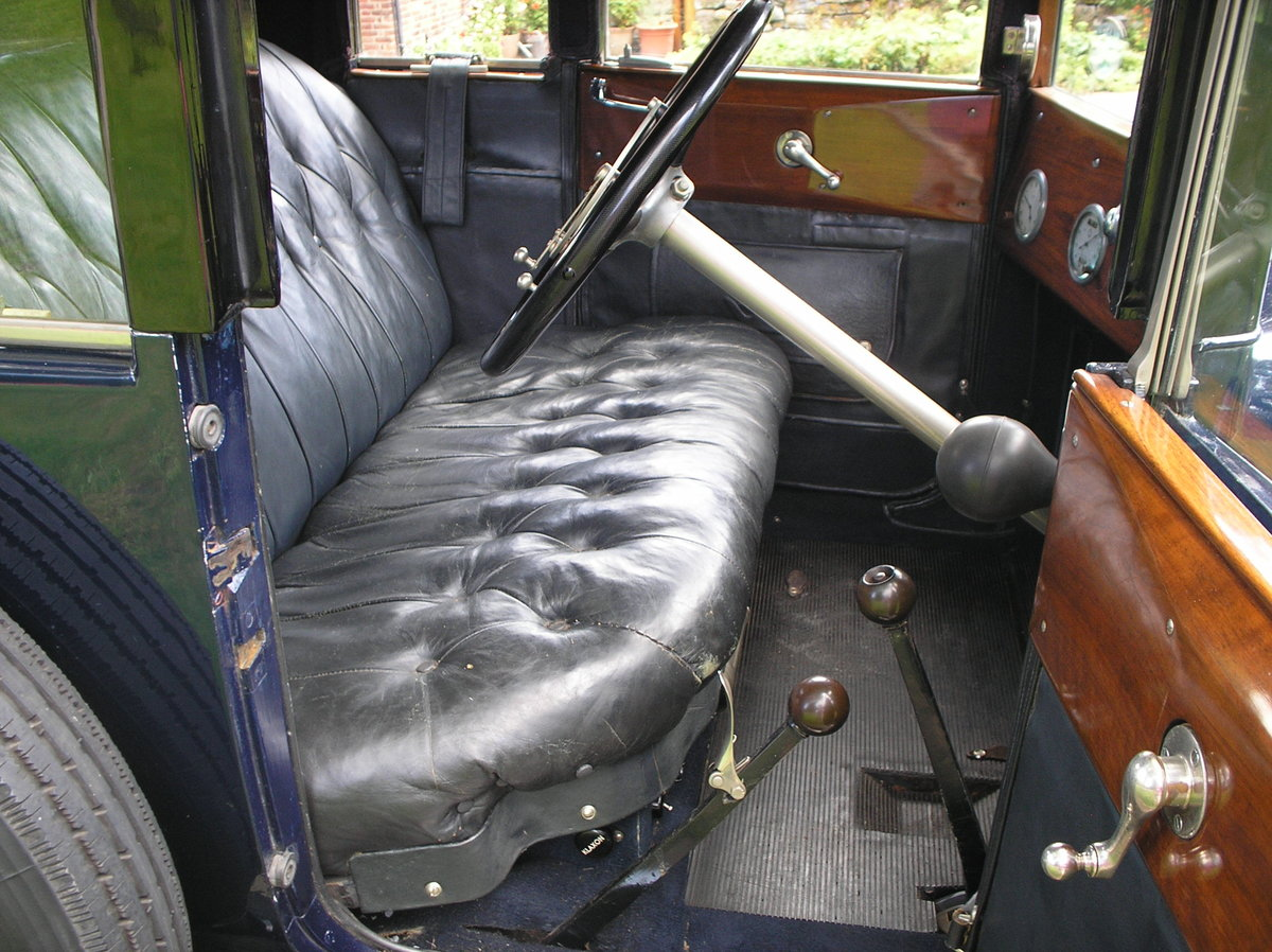 VINTAGE 1926 HUMBER 12/25 DROPHEAD 3/4 COUPE, RARE SURVIVOR For Sale (picture 3 of 6)