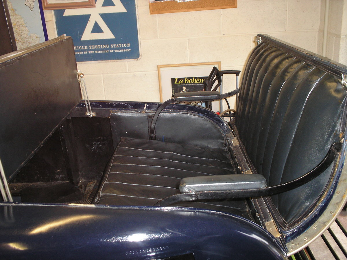 VINTAGE 1926 HUMBER 12/25 DROPHEAD 3/4 COUPE, RARE SURVIVOR For Sale (picture 5 of 6)