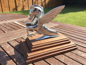 Humber Pegasus bonnet mascot For Sale
