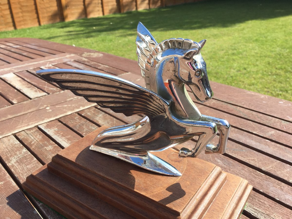 Humber Pegasus bonnet mascot For Sale (picture 2 of 3)