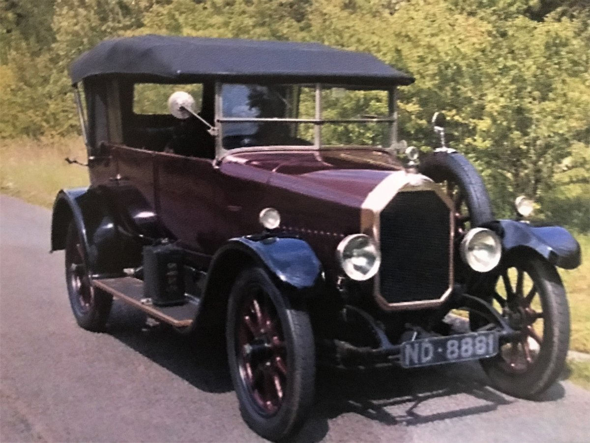 1925 Humber 12/25 Tourer For Sale (picture 1 of 2)