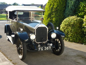 1926 Humber 14/40 Tourer For Sale (picture 1 of 5)