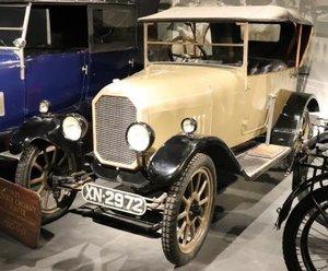 1923 Humber 8/18 model