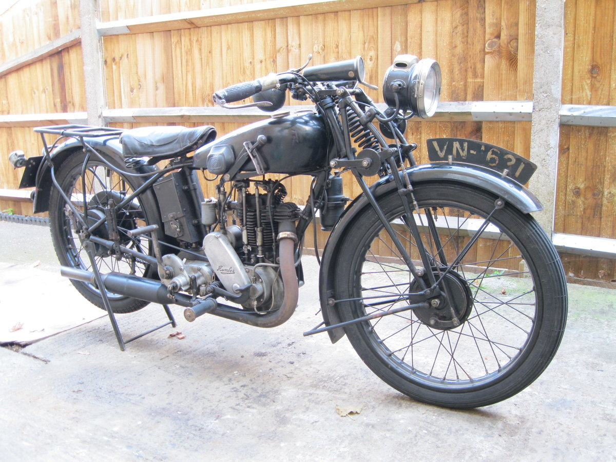 1930 Humber 350cc OHV.Rare classic vintage .  SOLD (picture 1 of 4)
