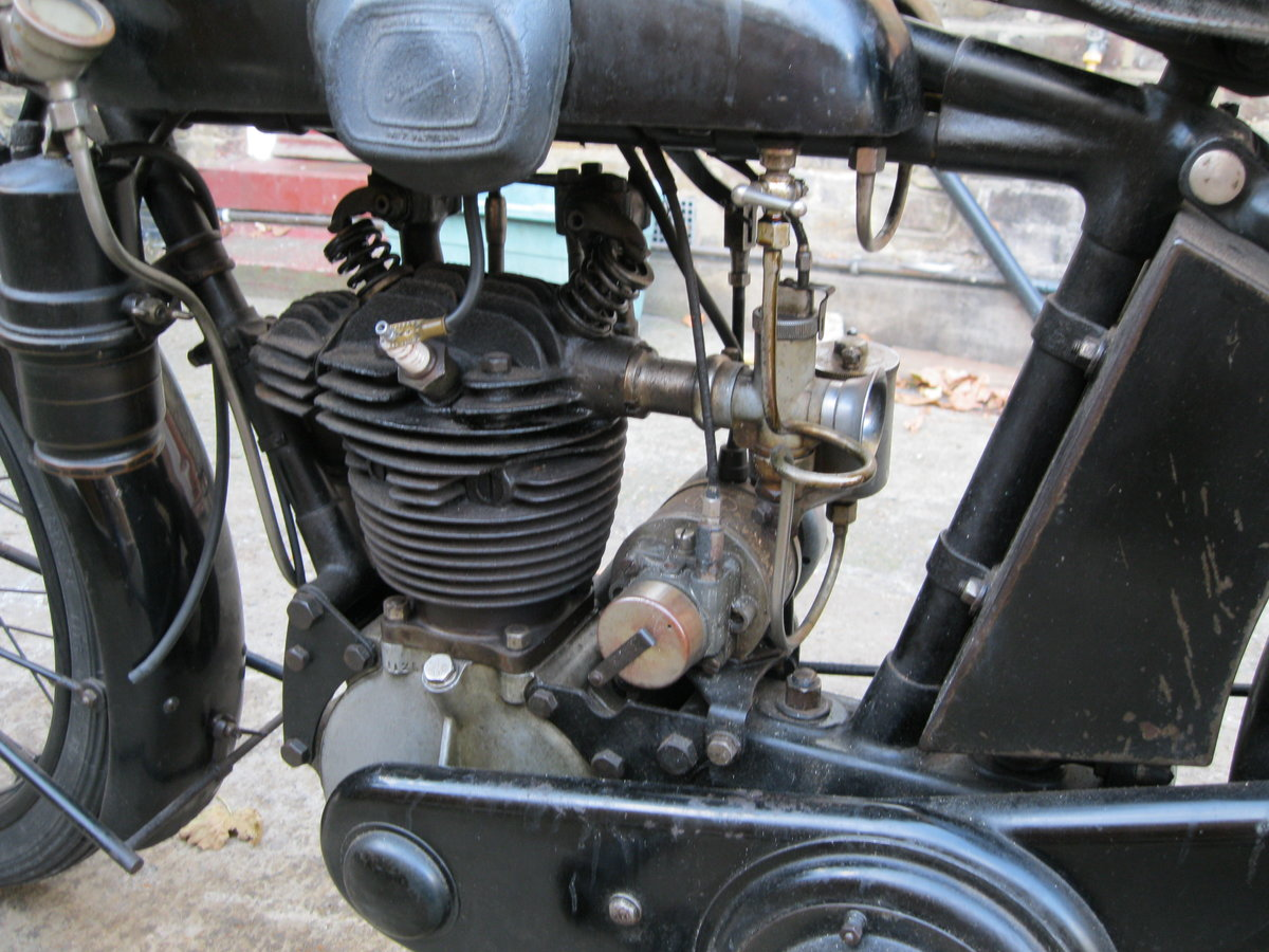 1930 Humber 350cc OHV.Rare classic vintage .  SOLD (picture 3 of 4)
