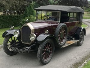 1925 Humber 12/25 Tourer For Sale by Auction