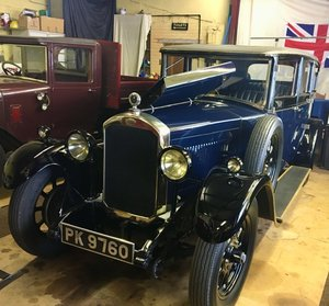 1929 Humber 16/50 Saloon - Award Winning Car For Sale