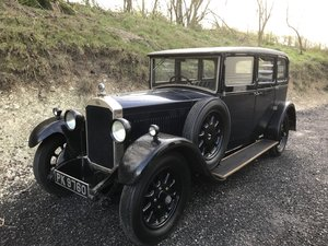 1929 Humber 16/50 Saloon - Award Winning Car