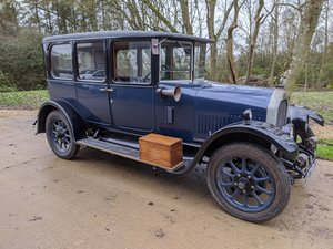 1927 Humber Six Light Saloon - a Motor Car of great quality!