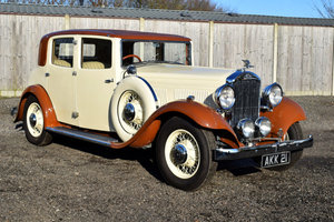 1933 Humber Snipe 80 Sports Saloon