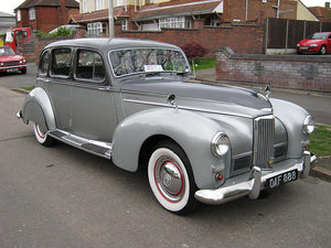 1947 HUMBER SUPER SNIPE ALMOST FINISHED For Sale